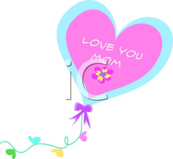 Love You Mom Clipart   Clipart Panda   Free Clipart Images