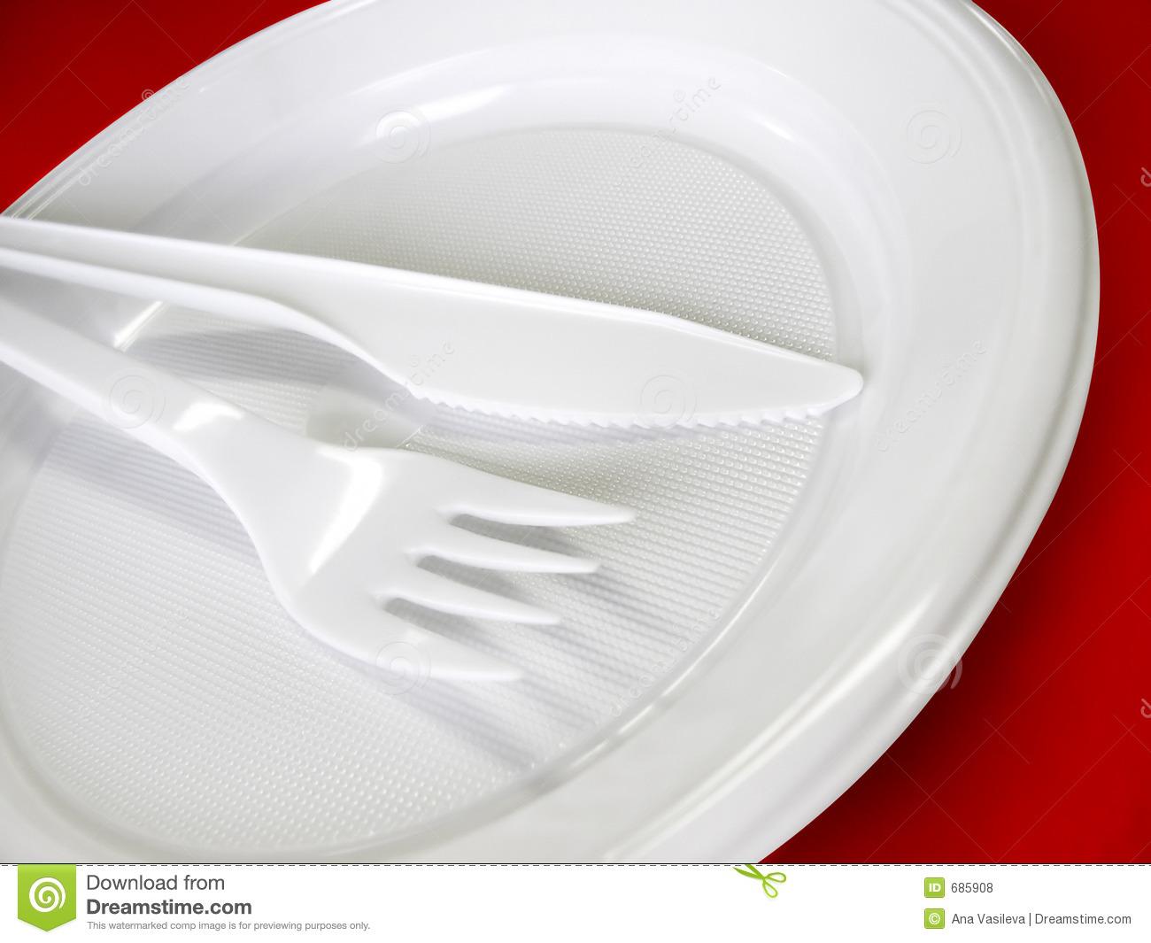 Plastic Fork Clipart -...