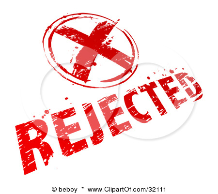 Reject Clipart Day 41  Fear Of Rejection