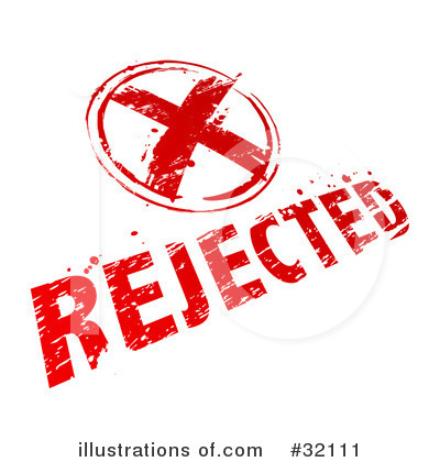 Rejected Clipart  32111 By Beboy   Royalty Free  Rf  Stock