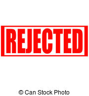 Rejected Clipart Vector