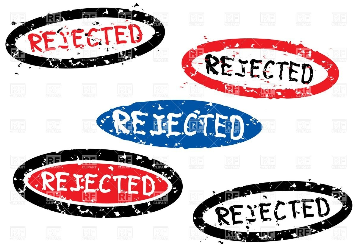 Rejected Stamp Set Download Royalty Free Vector Clipart  Eps