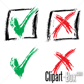 Related Approved   Rejected Cliparts