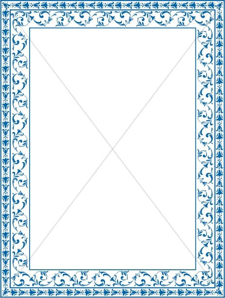 Christening Borders Clipart - Clipart Kid