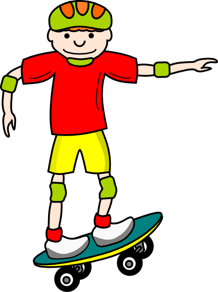 Image result for skateboard clipart