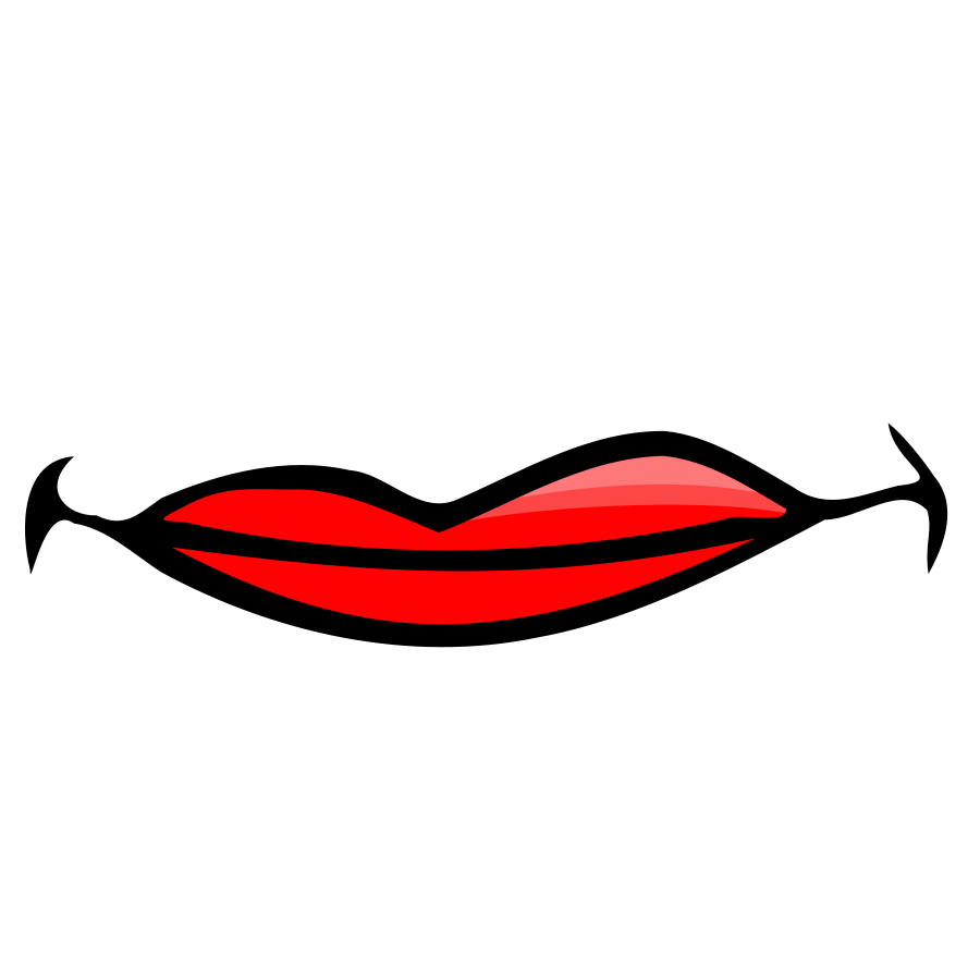 clipart panda lips - photo #45