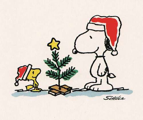 Snoopy And Woodstock Are Too Timeless To Put In A Vintage Christmas