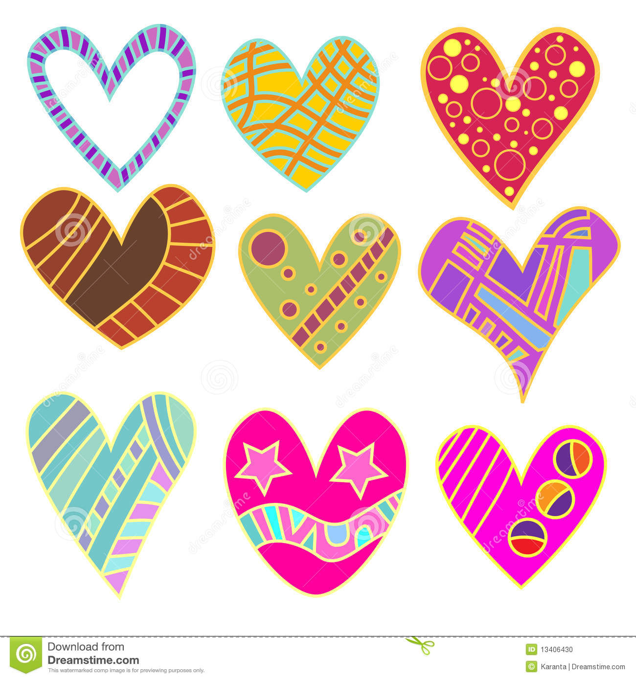 Whimsical Cupcake Clipart Whimsical Heart Collection