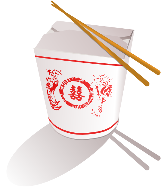 You Can Use This Chinese Take Out Food Clip Art On Your Food