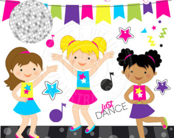 80s Dance Clipart - Clipart Kid