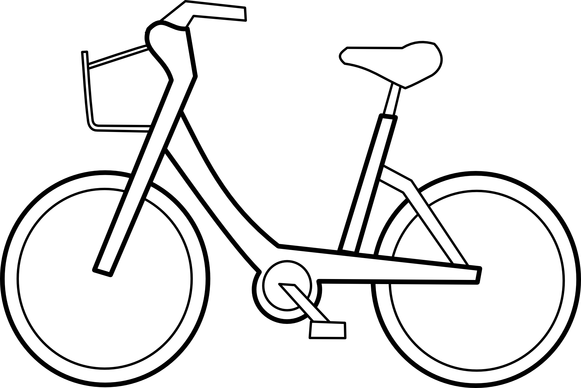 Vector Bicycle Clipart - Clipart Kid
