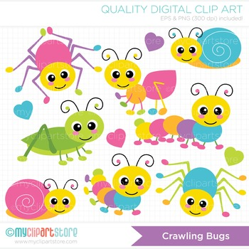 Bugs And Insects Clipart Clipart Crawling Bugs