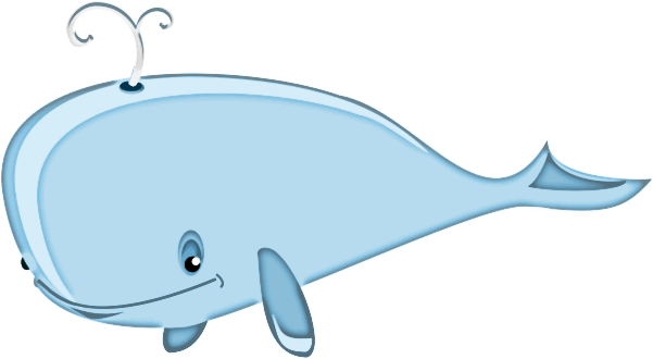 Cartoon Whale Bold