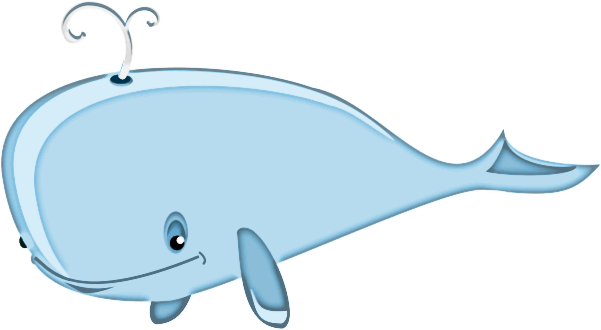 Cartoon Whale Bold    Cartoon Animals Whale Cartoon Whale Bold Png