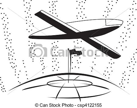 Clipart Vector Of Airline Company   Logo Air Company Flights Aircraft