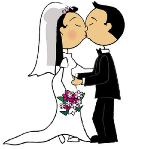 Download Bride And Groom Clipart