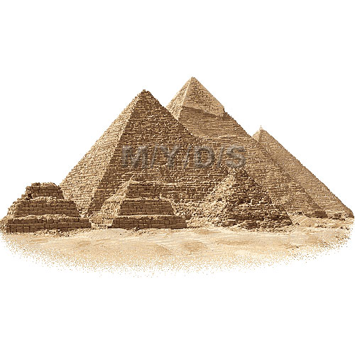 Egyptian Pyramids Clipart   Free Clip Art