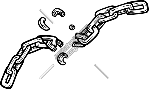 Eschains005bw Clipart And Vectorart  Tools   Chains Vectorart And