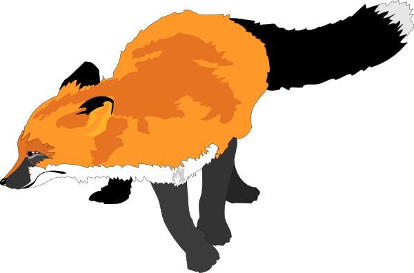 Red Fox Clip Art   Clipart Panda   Free Clipart Images