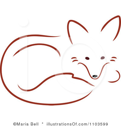 Red Fox Clipart - Clipart Kid