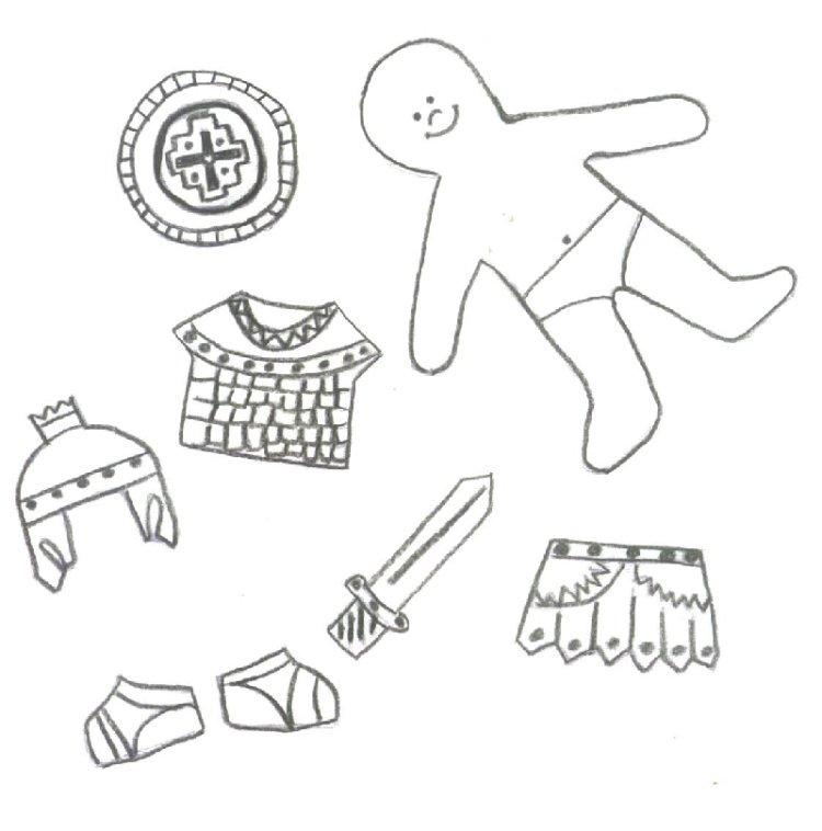 Clip Art Paper Doll Cutouts Clipart - Clipart Kid