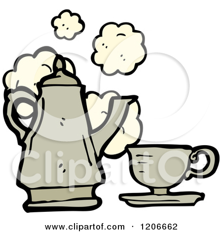 Royalty Free  Rf  Tea Set Clipart Illustrations Vector Graphics  1