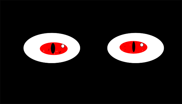 Clip Art Spooky Eyes Clip Art scary eyes clipart kid pictures