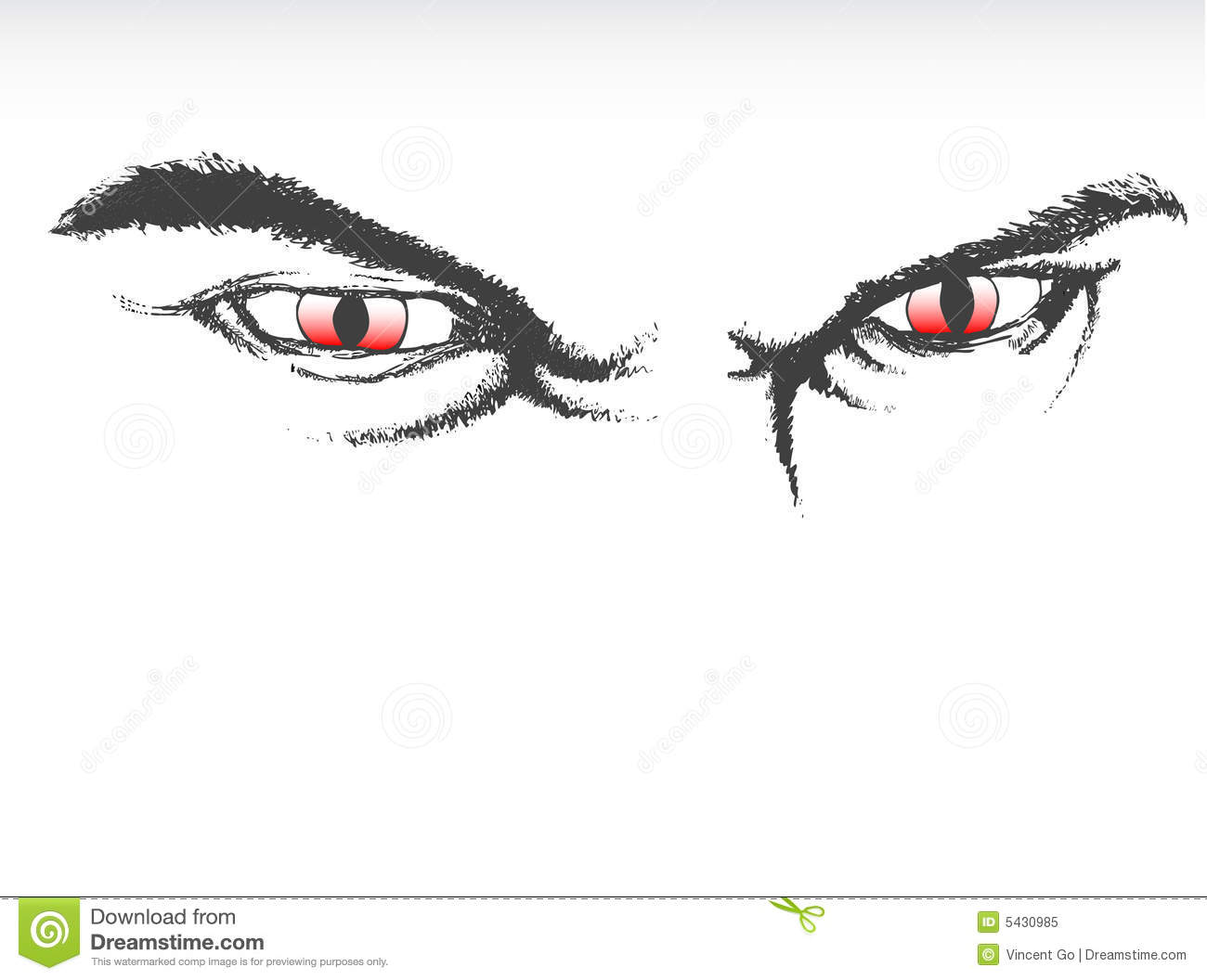 scary eyes Scary Eyes Royalty Free Stock Photo Image 5430985