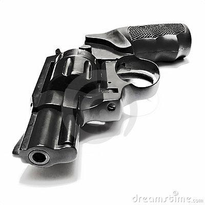 Small 22 Caliber Black Revolver Mr No Pr No 0 1295 0