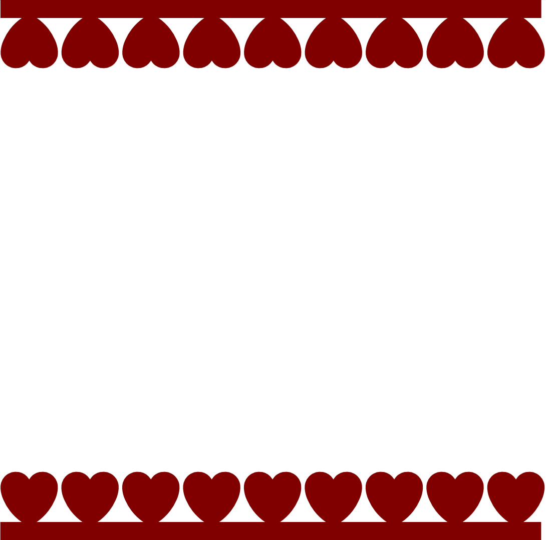 ... Day Heart Borders valentine heart border clipart - clipart kid