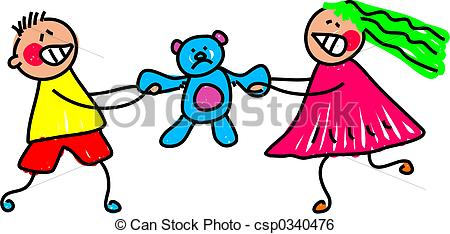 Stock Illustration   It  S My Toy   Stock Illustration Royalty Free