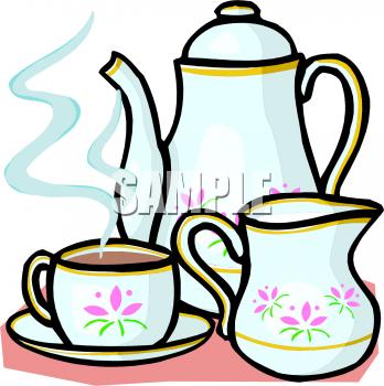 Tea Set Clipart - Clipart Suggest