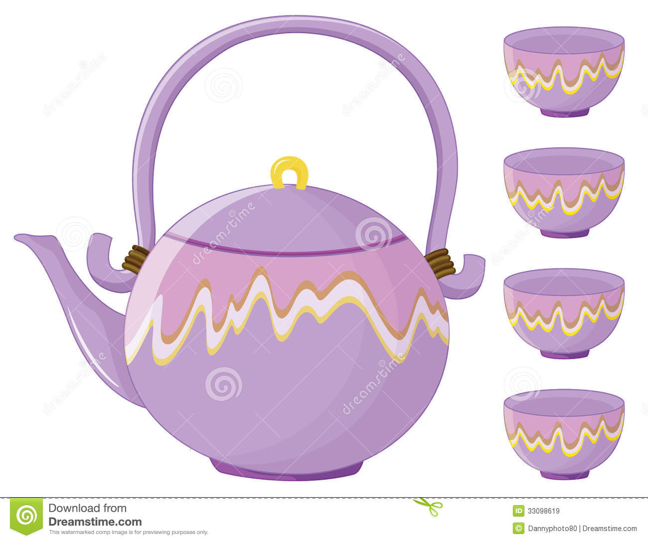 Tea Set Clipart Tea Set
