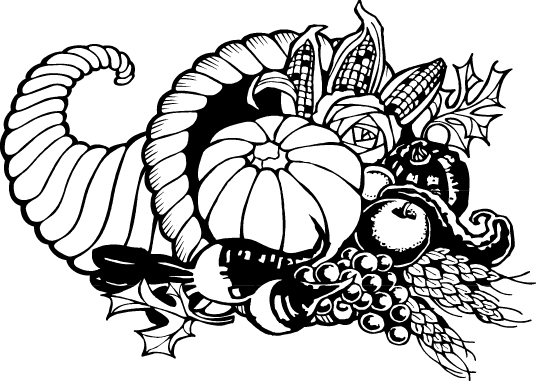 Thanksgiving Cornucopia Clip Art Jpg