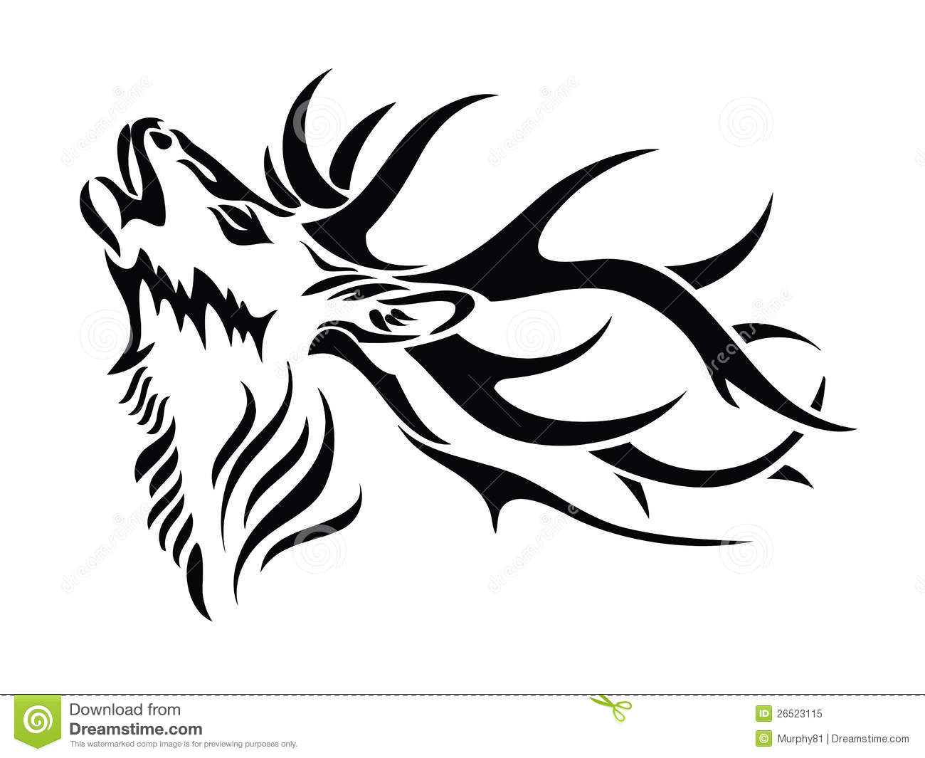 tribal deer skull clipart clipart suggest