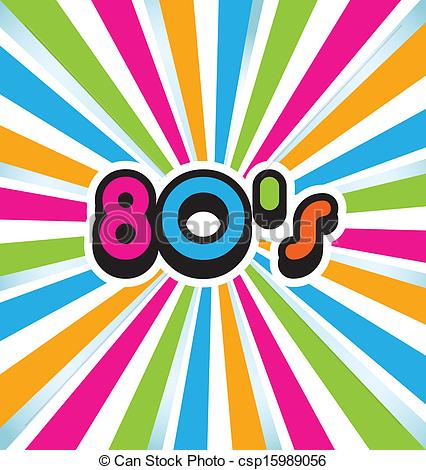 Vector   80s Vector Pop Art Background   Stock Illustration Royalty