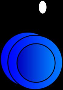 Yo Yo Blue Clip Art At Clker Com   Vector Clip Art Online Royalty