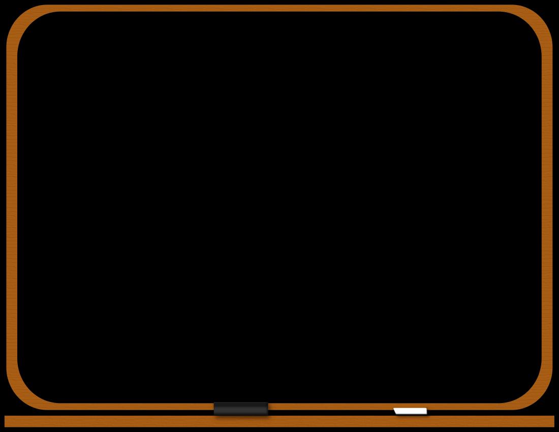 Blackboard Clipart Blackboard Blank Page T Png