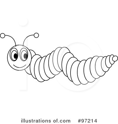 Caterpillar Clip Art Black And White Images   Pictures   Becuo