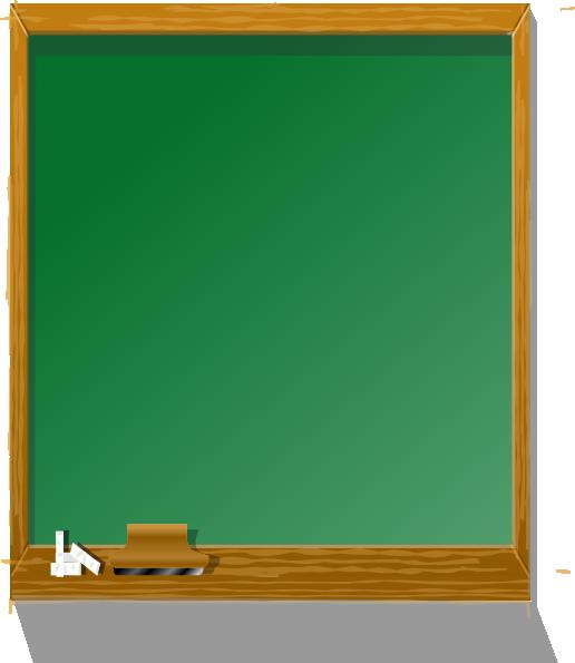 Chalkboard Tall Clip Art At Clker Com   Vector Clip Art Online