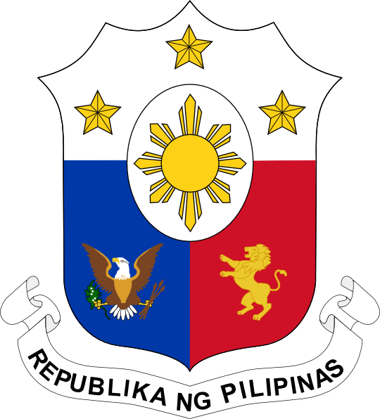 Coat Of Arms Of The Philippines Clip Art At Clker Com   Vector Clip