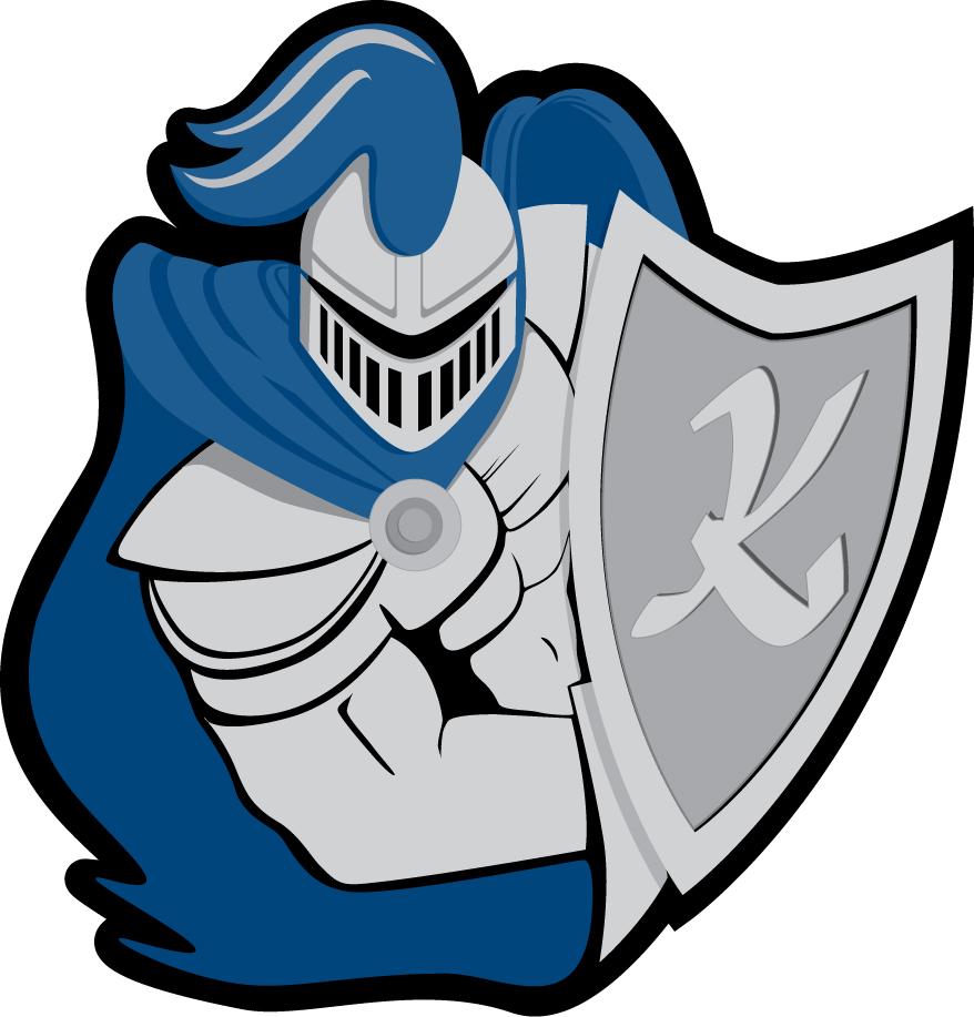 Knight On Horse Mascot...