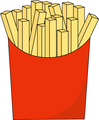 French Fries Clipart - Clipart Suggest
