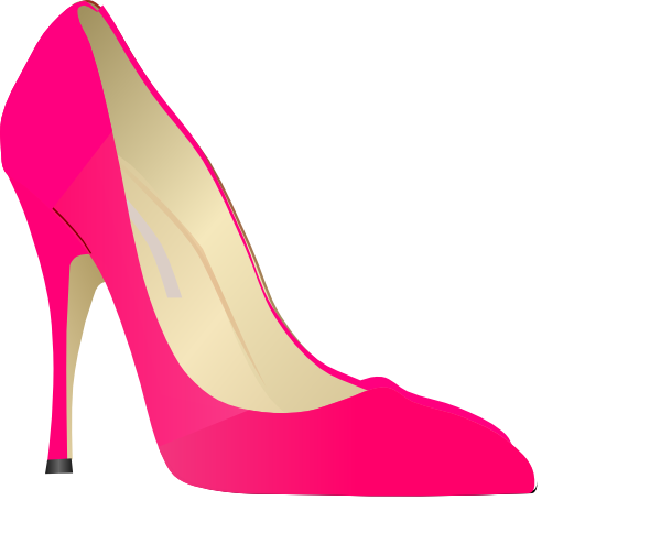 High Heel Clip Artwork