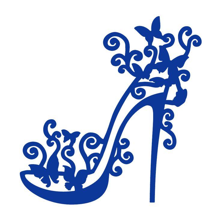 Simple Womenu0026#39;s Shoes Clipart - Clipart Suggest