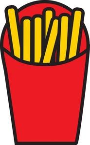 Clip Art French Fries Clip Art french fries clipart kid mcdonalds clip art l