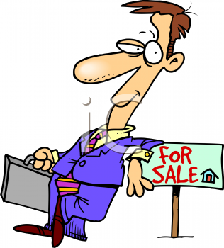 Real Estate Clipart 0511 0811 1015 4069 Real Estate Agent Leaning On A