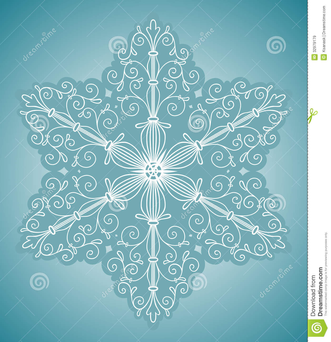 Spur Art Design Your Line : Green snowflake rounds clipart suggest