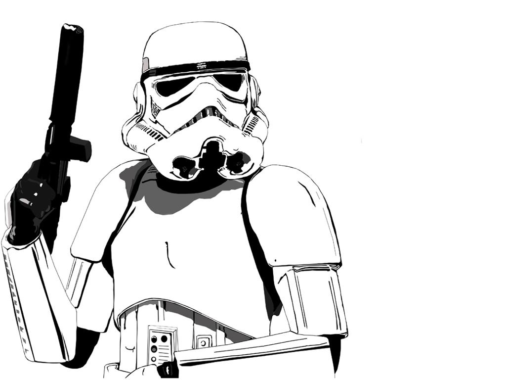 Star Wars Stormtrooper Clipart - Clipart Kid