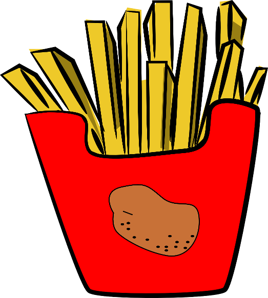 Clip Art French Fries Clip Art french fries clipart kid the totally free clip art blog food fries